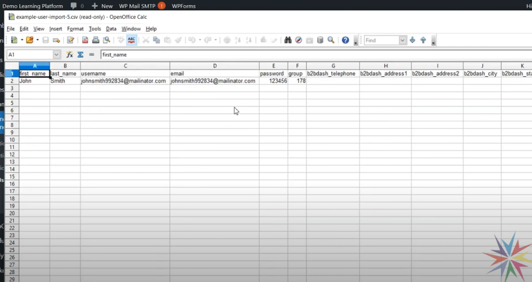 Enrolling users in LearnDash from a spreadsheet import