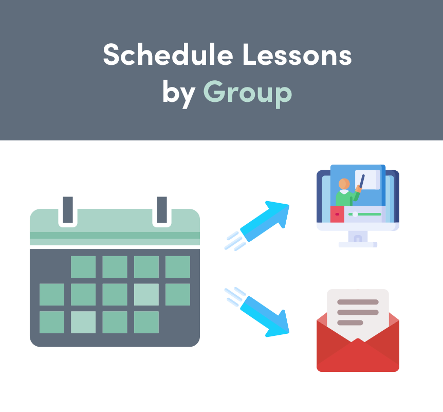 Schedule Lessons by Group in LearnDash